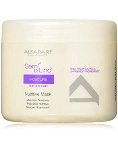 Semi Di Lino Shine Mask - Semi Di Lino Moisture Nutritive Mask 500 Ml