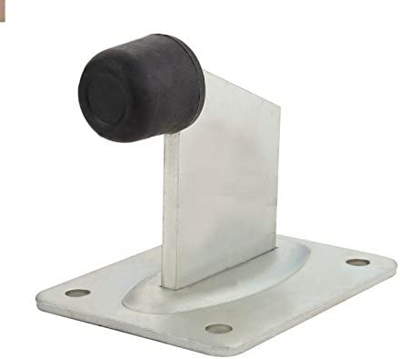ALEKO End Stop Floor Mount for Sliding Swing or Rolling Gates or Doors Gate Meeting Point