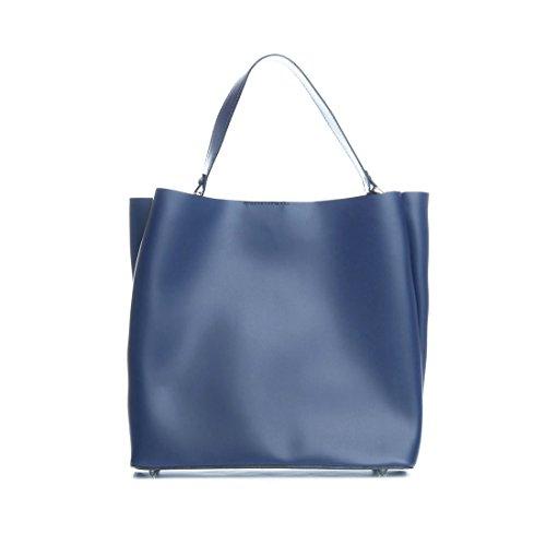 De Blau Blu Para Mujer Tela Mila Bolso 43 Jeans HA7q7C