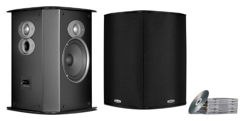 Polk Audio FXI A6 Surround Speakers (Pair, Black) by Polk Audio