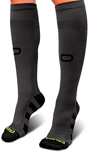 (Crucial Compression Socks for Men & Women (20-30mmHg) - Best Graduated Stockings for Running, Athletic, Travel, Pregnancy, Maternity, Nurses, Medical, Shin Splints, Support, Circulation &)
