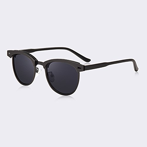 los las de espejo Tonos plaza Moda mujeres de la Gafas Dama de Cina armazón metálico TIANLIANG04 UV400 sol de significa La Vintage Gafas para PF4waq