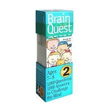2nd Grade Brain Quest Card (Grade Brain Quest Card Deck)