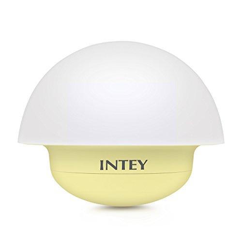 INTEY Sensor Changing Dimmable Mushroom