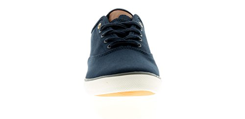 Verschluss Öse UK Sherman Kontrastdetails und Streifen Weiß Schuhe Absatz 6 Marineblau Obermaterial Stoff Größen Laufsohle Zunge mit Ben Panel Spitze Contrast zur Fünf 12 Herren O8d1Yw7qw