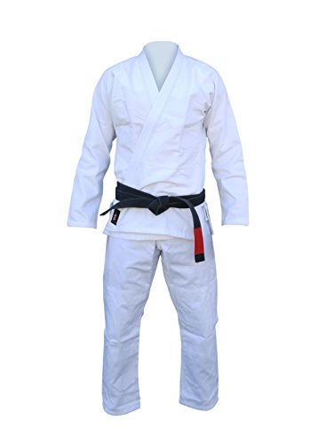 #New Ultra Light PRO BJJ Jiu Jitsu Gi with Free Belt A3 White (Jiu Jitsu Pro Gear compare prices)