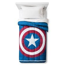 Captain America Comforter and Sheet Set - Twin - (Captain America Bedding Twin compare prices)