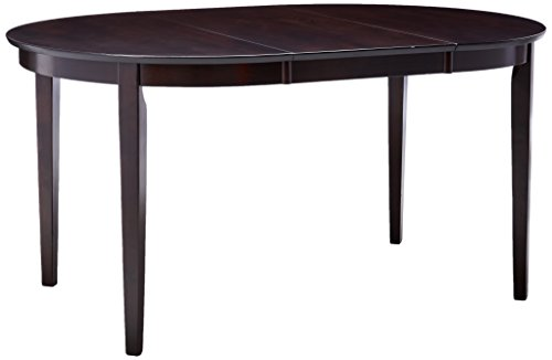 Gabriel Oval Dining Table Cappuccino