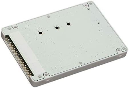 Homyl 1x M.2 NGFF SSD a 2.5 IDE 44Pin Convertidor Caja de Disco ...