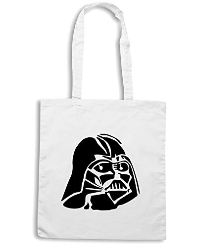 43244 FUN1152 DARTH Speed 4 Borsa VADER Bianca Shopper Shirt B4gOp