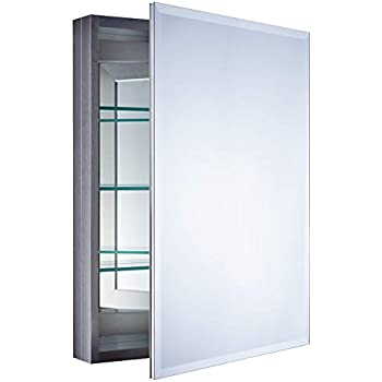 Amazon Com Foremost Mmc2330 Bn 23 Inch X 30 Inch Aluminum Medicine Cabinet In Brushed Nickel