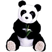 (TY Beanie Baby - LI MEI the Panda Bear (Internet Exclusive) )
