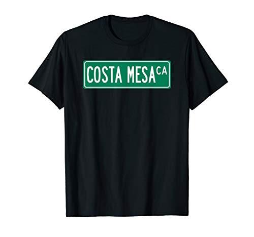 Cool and Trendy Costa Mesa  CA Street Sign T-Shirt (Memphis Mesa Costa Ca)