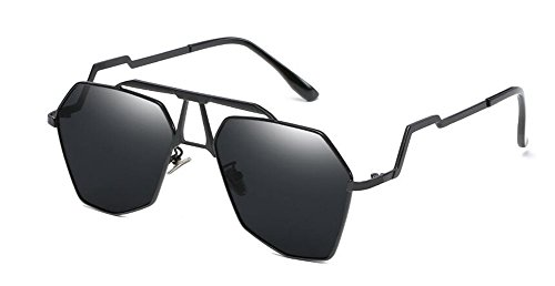 en polarisées style soleil Lennon cercle A Grise lunettes retro rond Complète métallique Pièce de du inspirées vintage wpqzE