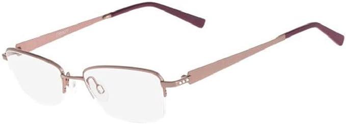 Amazon Com Eyeglasses Flexon Hepburn 249 Camel Blush Clothing