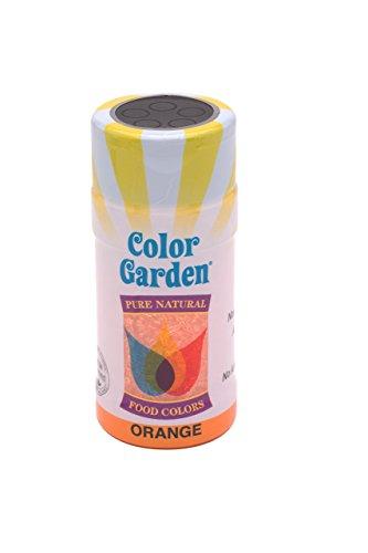 Color Garden Naturally Colored Sugar Crystals, Orange 3 oz
