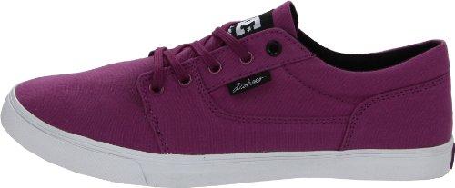 Womens Wine Sneaker D0303113 Canvas Bristols Shoe Dc Donna Shoes Purple t4qzfYwAH