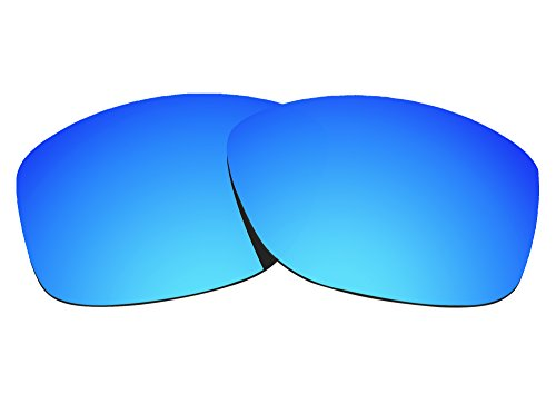 COLOR STAY LENSES 2.0mm Thickness Polarized Replacement Lenses for Oakley Cohort OO9301 Sunglasses Blue Mirror Coatings by COLOR STAY LENSES