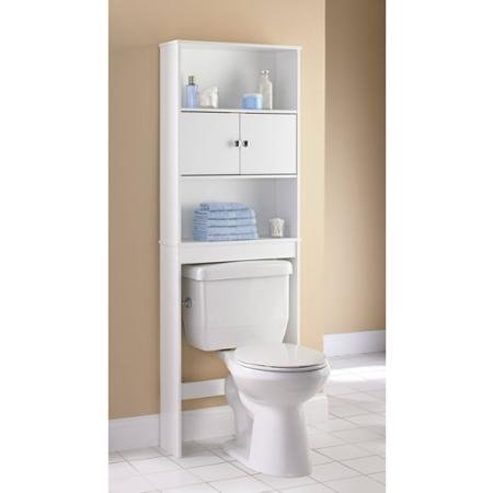 Mainstays Wood Spacesaver, White by Supernon