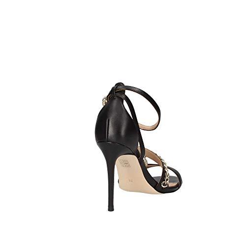 Escarpins leather Kayak sandalo Bride Cheville Nero Femme Guess sandal dItRqxwR