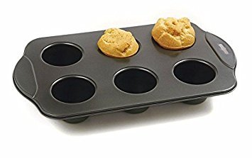 Kitchen, Dining & Bar Nonstick Popover Muffin Pastry Roll Biscuit Pan 6 Cup