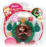 - Barbie Peekaboo Petites Snowflake Flurries Doll Collection - #31 Holiday Joy