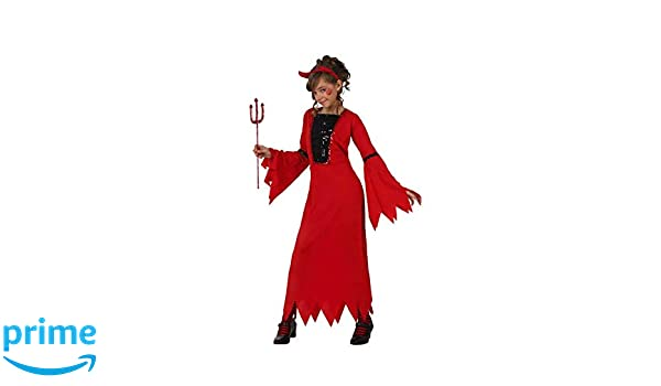 Atosa-24525 Disfraz Demonio para Niña Infantil Color rojo 3 a 4 ...