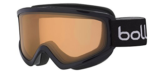 Bolle Freeze Shiny Googles, Black Citrus, One Size (Bolle Snow Goggles Men)