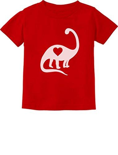 Valentines Shirts For Toddlers (TeeStars - Dinosaur Love Heart Cute Toddler Kids T-Shirt 4T)