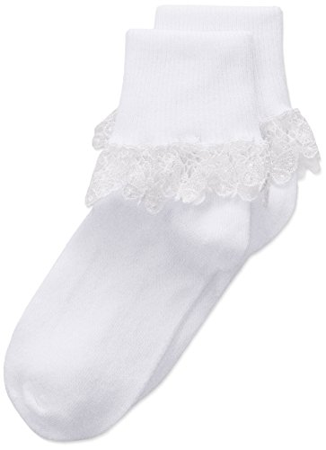 Country Kids Girls Little Butterfly Lace Socks 1 Pair Pack