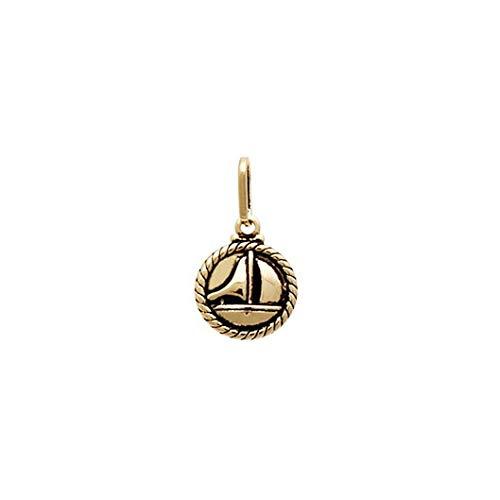 pingente medalha barco