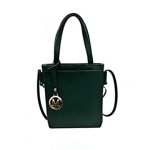 Vintage Matching Bag Green Elegant and Hexingshan Use Leather Bag Dual Easy PU Handbag Messenger AnSHqw