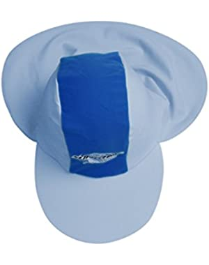 Baby UV Sun Protection Flap Hat- Blue XS
