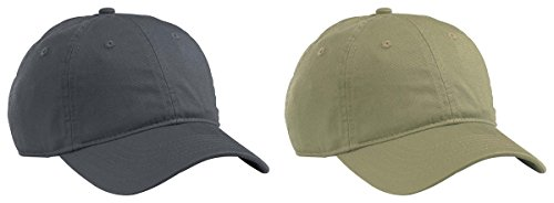 Imported Jungle Hat - Econscious Men's Organic Cotton Twill Baseball Hats Set_CHARCOAL & JUNGLE_OS