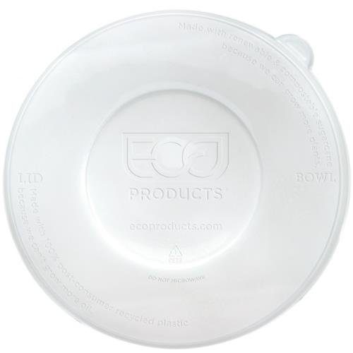 100 Coupe - Eco-Products, Inc EP-BLRLID 100% Recycled Content, Fits All Coupe and Noodle Bowls (Pack of 400)