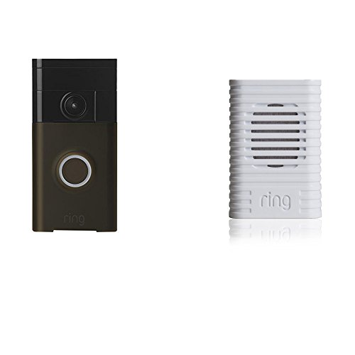 Wi-Fi Enabled Video Doorbell Venetian Bronze with Chime