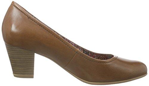 Toe Heels Nut 440 Closed Tamaris Brown 22408 Women's FwCqtcxaWU