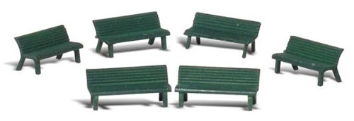 Woodland Scenics O Scale Scenic Accents Park Benches for sale  Delivered anywhere in USA