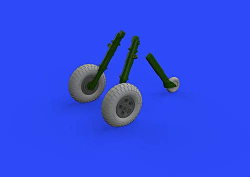 - Eduard Brassin 1:32 Spitfire Mk.IX Wheels 5spoke w/Pattern for Tamiya #632128