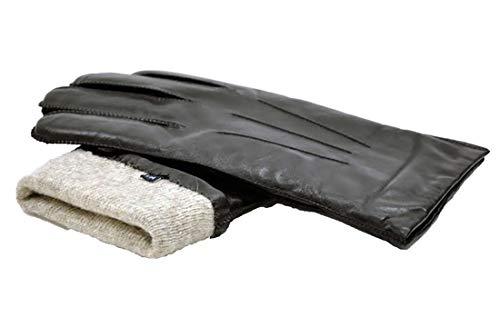 MoDA Mr. Boston Men's Luxury Genuine Wool Lining Leather Driving Gloves