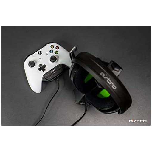 ASTRO Gaming A10 Wired Gaming Headset + Controller-mounted MixAmp M60, ASTRO Audio, Dolby ATMOS, Game:Voice Balance…