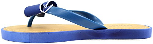 Womens Beach Holiday Bow Shoes Flops Millie Summer Flip Ladies Navy Sandal qUd1BOq
