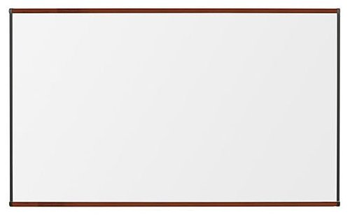 Mahogany Frame Whiteboard (Best-Rite TuF Rite Melamine Dry Erase Whiteboard, Origin Trim, Mahogany, 3 x 4 Feet)