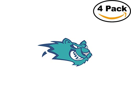 Worcester Icecats 4 Stickers 4X4 inches Car Bumper Window Sticker Decal