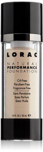 LORAC Natural Performance Foundation, NP1 Porcelain, 1 fl. oz.