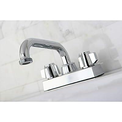 Kingston Brass KB471 Laundry Tray Faucet, Polished Chrome