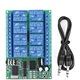 DC 12V 8CH DTMF Relay Phone Voice Decoder Remote Controller Switch Module