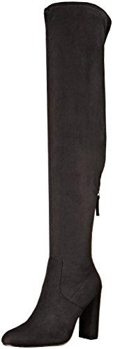 Steve Madden Women's Emotions Over The Knee Boot, Black, 6 M (Steve Madden Knee High Boots)