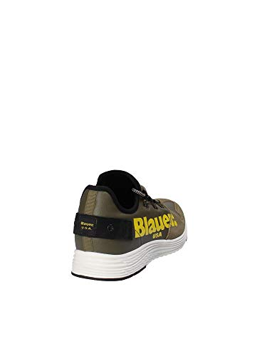 Blauer USA Miami Verde, 42: Amazon.it: Scarpe e borse