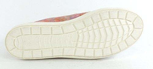 Multi Rose Rose Sneaker Leder Multi Caprice 7225 4qgaxaH